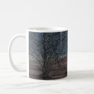 ねぐらにつくべき家 コーヒーマグカップ