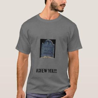ねじで締めて下さい、!ねじで締めて下さい!! Tシャツ