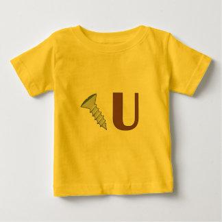 ねじで締めて下さい ベビーTシャツ
