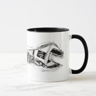 ねじられる用具 マグカップ