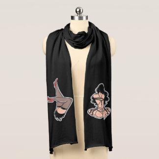 ねじれたスカーフ スカーフ
