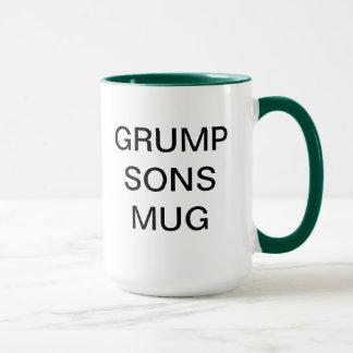 ねじれの孫のマグのユーモア マグカップ