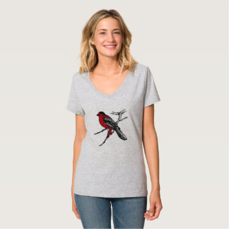 ねじれの鳥 Tシャツ
