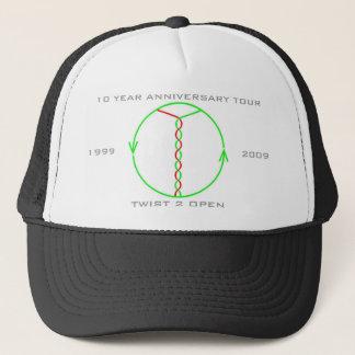 ねじれ2の開いた10年記念日旅行の帽子 キャップ