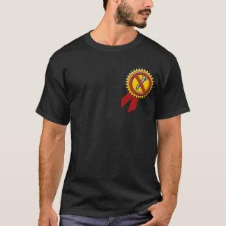 ねじを抜かれた暗いTシャツ Tシャツ