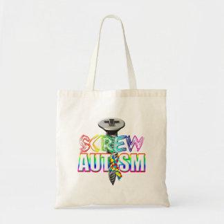 ねじ自閉症 トートバッグ