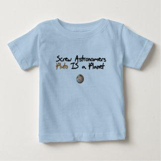 ねじAstonomers…プルートは惑星です ベビーTシャツ