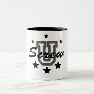 ねじUマグ ツートーンマグカップ