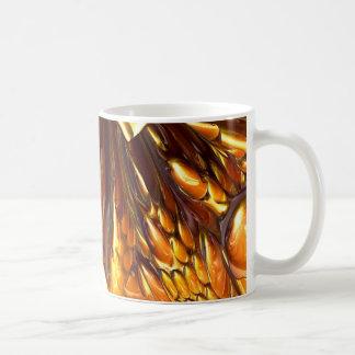 ねばねばしたチョコレートカラメルのヌガー#1 コーヒーマグカップ