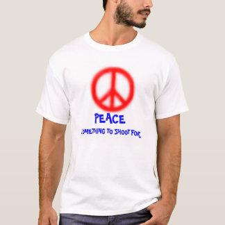 のために撃つことを何か Tシャツ