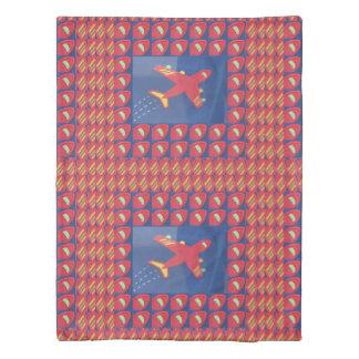 のための羽毛布団カバーコピーnののりのイメージ両側のプリント 掛け布団カバー
