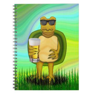 のどが渇いたカメ ノートブック