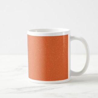 のどの罰金のグリッターのPANTONEの蜜柑のオレンジ コーヒーマグカップ
