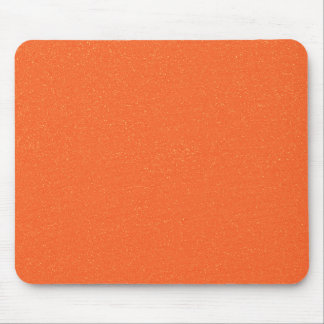 のどの罰金のグリッターのPANTONEの蜜柑のオレンジ マウスパッド