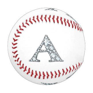 """のどの""""ダイヤモンド""""のモノグラム 野球ボール"""