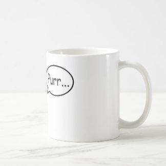 のどを鳴らす猫 コーヒーマグカップ