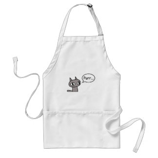 のどを鳴らす猫 スタンダードエプロン