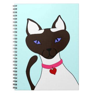 のどを鳴らす音fectのMoiraの水のノート ノートブック