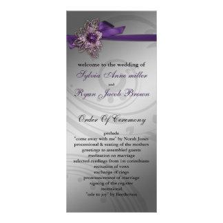 のど|リボン|紫色|結婚|プログラム