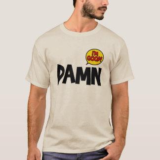 ののしり私はよいです Tシャツ