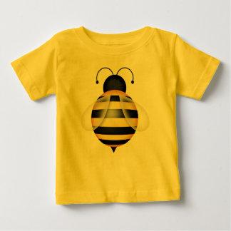 のまわりにの黒くおよび黄色の《昆虫》マルハナバチの女王バチ ベビーTシャツ