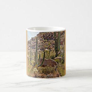 のんきな大きい石@アリゾナのコーヒー・マグ コーヒーマグカップ