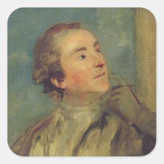 のウィリアムChambers (1726-96年)ポートレート(油 スクエアシール