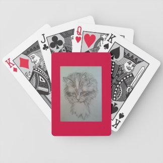 のカードを遊びます子猫 バイスクルトランプ