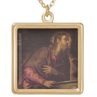 のキリストよく、c.1560 (キャンバスの油) (50を見て下さい ゴールドプレートネックレス
