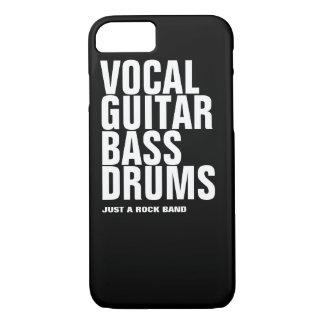 のギター、低音、ドラム…石声 iPhone 8/7ケース