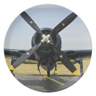 のグラマンF8Fの闘士海軍キャリアの戦闘機 プレート