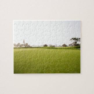 のゴルフ、ゴルフコース、草、景色景色、 ジグソーパズル