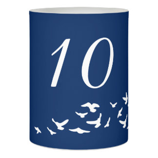 |のテーブル数を結婚している沿岸鳥 LEDキャンドル