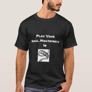 のトレンディー感動的 Tシャツ