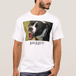 のバックオフ不道徳! Tシャツ