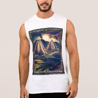 のピラミッド捜索 袖なしシャツ