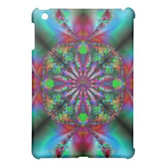 ~のフラクタルの芸術の~のiPadの場合心の安らぎ iPad Miniケース