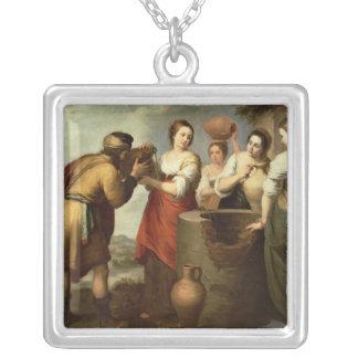 のレベッカそしてEliezerよく、c.1665 シルバープレートネックレス