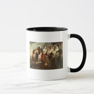 のレベッカそしてEliezerよく、c.1665 マグカップ