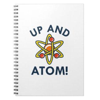 の上および原子! ノートブック