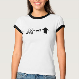の上でたたかれる-カスタマイズ Tシャツ