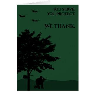 の兵士ありがとう カード