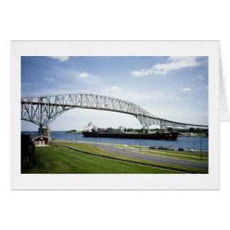 の前のBluewater橋2がありました カード