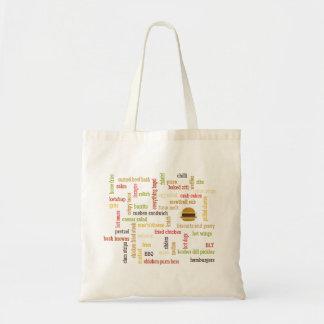 `の心地よいの食糧グラフィック トートバッグ