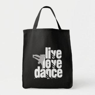 の愛、ダンス生きている トートバッグ