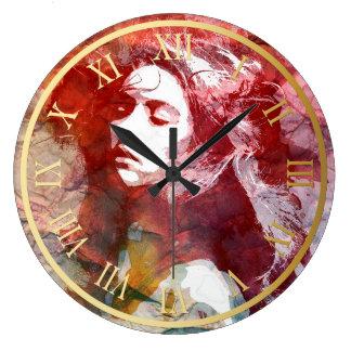  の柱時計を愛する挑戦 ラージ壁時計