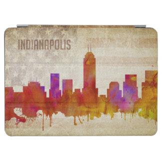 |の水彩画都市スカイラインのインディアナポリス、 iPad AIR カバー