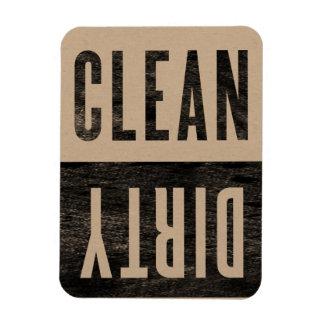 |の汚れた凸版印刷のスタイルのディッシュウォッシャーの磁石をきれいにして下さい フレックスマグネット