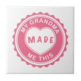 の祖母愛して下さい! タイル
