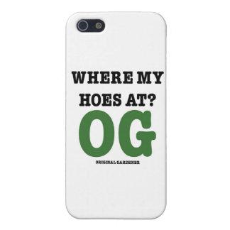 の私のくわところ(元の庭師の緑) iPhone 5 ケース